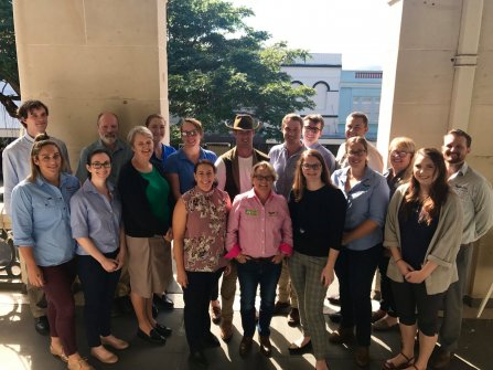 The Environmental Cowboy celebrates QLD's first ever Climate week with FBA